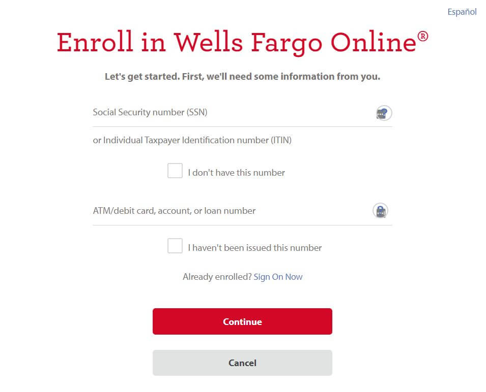 Sign Up For Wells Fargo Dealer Service Account